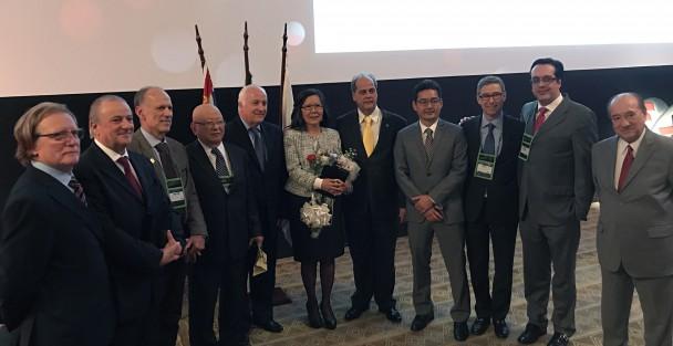 Homenageados da 37a Jornada paulista de Cirurgia Plástica e Diretoria da Sociedade Brasileira de Cirurgia Plástica Nacional e Regional
